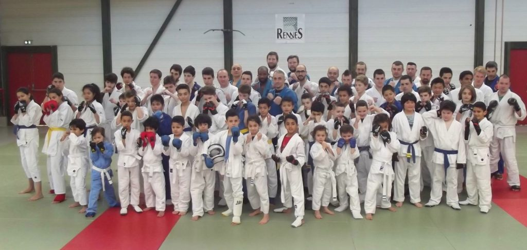 "Team ""KUDO RENNES"" à la Coupe de France KUDO 2016"