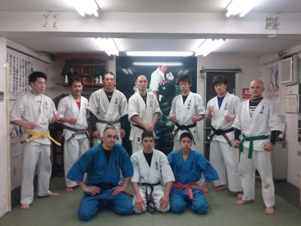 Tokyo 2016, avec Shimizu Sensei.