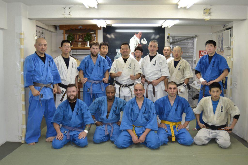 Tokyo 2014, avec Yamazaki Sensei