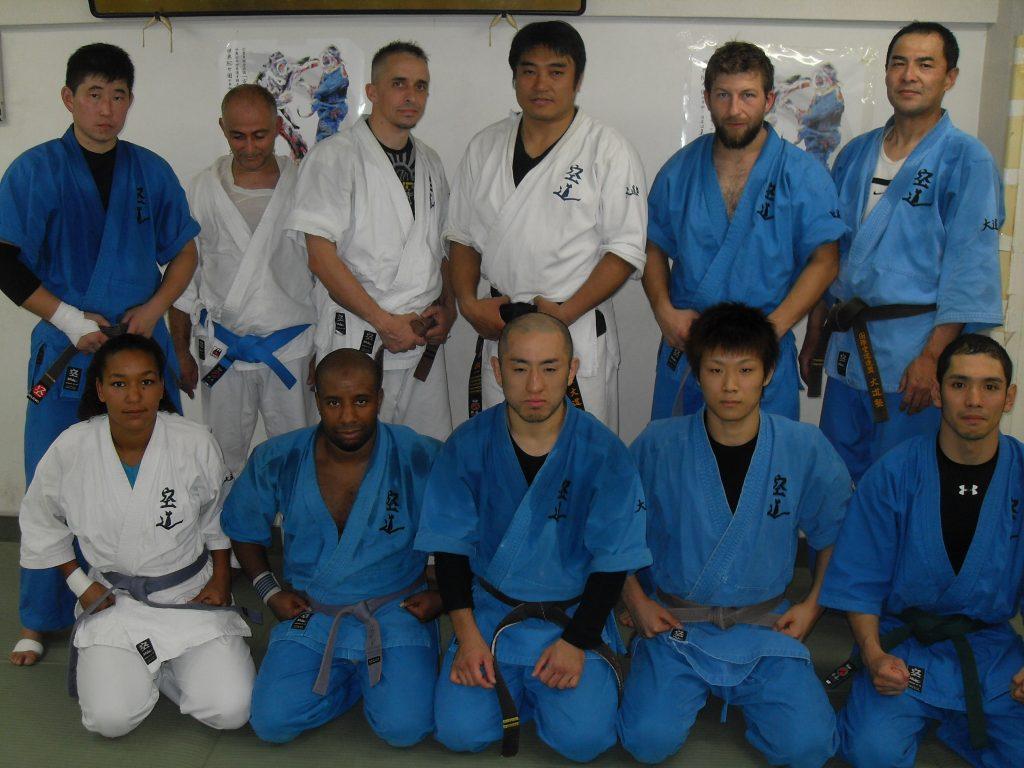 Tokyo 2014, avec Inagaki Sensei