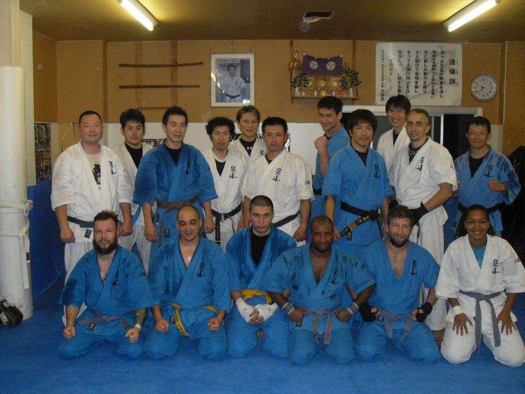 Nagoya 2014 avec Terazono Sensei et Hisaki Kato.